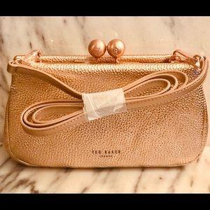 Ted Baker Chrina Leather Crossbody Bag  NWT